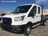 FORD Transit 2.0 130CV EURO 6DDOPPIA CABINA CON CASSONE FISSO