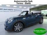 MINI Cabrio 2.0 Cooper S Sidewalk Plus Edition Auto
