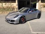 PORSCHE 991 3.0 Targa 4 GTS UFF.ITALIA CARBONIO PELLE ROSSA