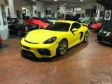 PORSCHE Cayman GT4 4.0 420CV UFFICIALE ITALIA