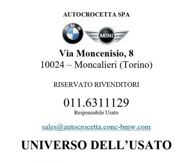 BMW 316 d Touring Business Advantage Auto Gancio Traino