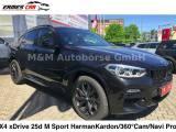 BMW X4 xDrive25d Msport NAVI. PROF-20''-PELLE-PDC