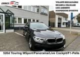 BMW 520 d Touring Msport PANO-LIVE CO-F1-PELLE