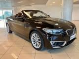 BMW 220 d Cabrio Luxury Navig, Pelle, FULL Optionals