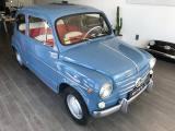 FIAT 600  D SPORT. CONTROVENTO LIBRET. TARGA ORIGINALI